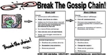 gossip in the workplace essay